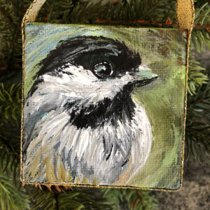Mini Chickadee Ornament