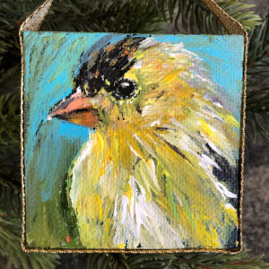 Mini Goldfinch Ornament