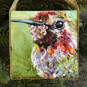 Mini Hummingbird Ornament