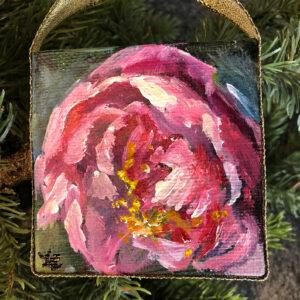 Peony Ornament