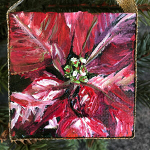 Mini Poinsettia Ornament