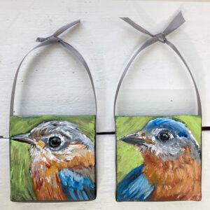 Into The Garden Collection: Mini Mr. Bluebird