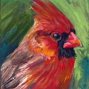 Into The Garden Collection Mini Big Red Cardinal